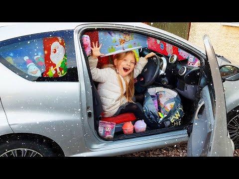 Car Full Of Toys For Christmas