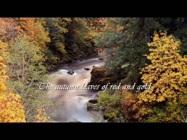 Nana Mouskouri - Autumn Leaves