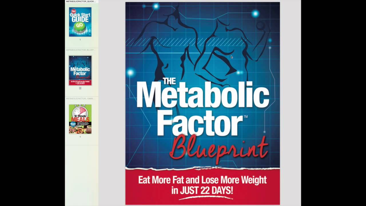 Metabolic factor reviews inside bowdens blueprint youtube malvernweather Images