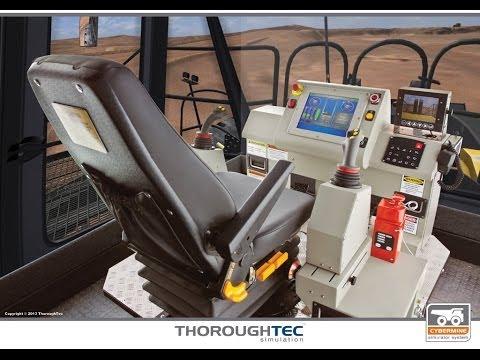 LeTourneau 2350 Wheel Loader Simulator - CYBERMINE