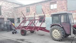 Budowa Przyczepy Jednoosiowej Od Podstaw :)