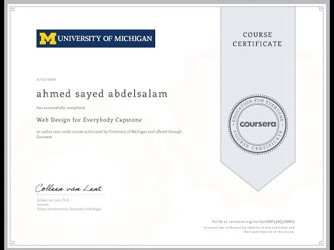 "How to Use ""coursera.org"" and Get Free certificate"
