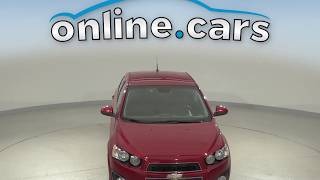 A11138DT Used 2012 Chevrolet Sonic 2LT FWD 4D Sedan Red Test Drive, Review, For Sale