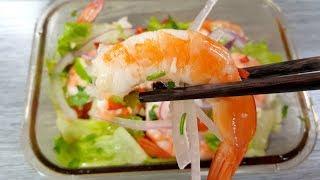 【1mintips】夏天這樣吃蝦,清涼又過癮! 簡單蝦料理,透心涼的入味,啊!配飯超享受!!