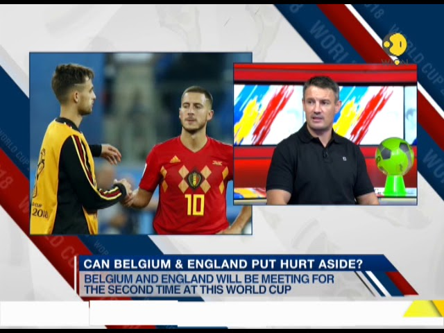 Theatre of Dreams: Belgium, England in third-place playoff
