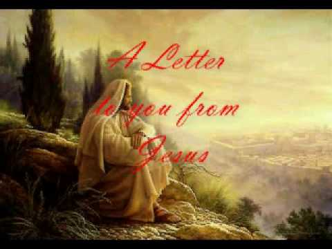 A Letter to you from Jesus