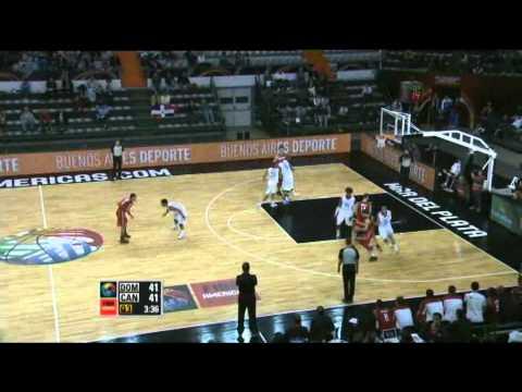 Dominican Republic Vs. Canada  / 2011 FIBA Americas Championship Round 1