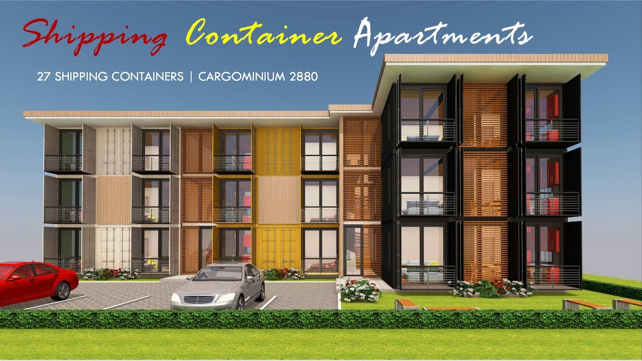 Shipping Container Apartments Design + Floor Plans 2019 ...