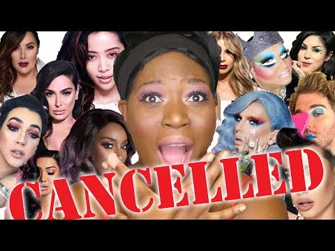 Full Face of CANCELLED YOUTUBERS Makeup thumbnail