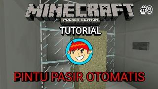 CARA MEMBUAT PINTU PASIR 2x1 OTOMATIS (1.1) - Minecraft Tutorial
