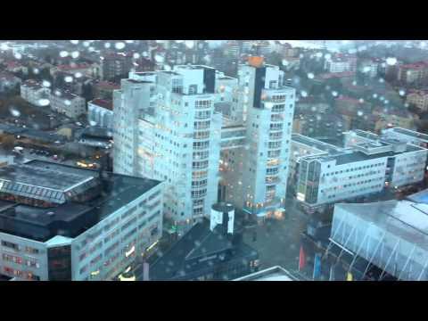 Way down from Ericsson Globe Gondola