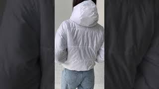 женская куртка номер 30 белая