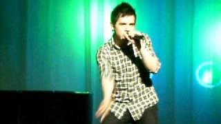 David Archuleta- Zero Gravity. Cleveland, Ohio 12-12-09