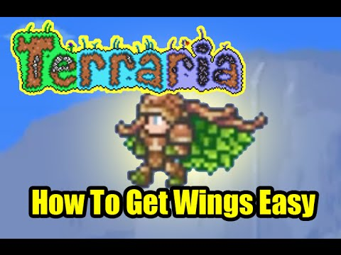 Terraria How To Get Wings Easy | Easiest Fastest Wings