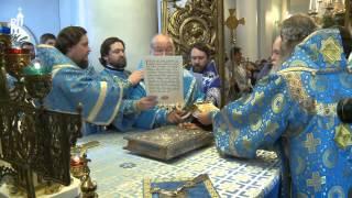 Патриарх Кирилл совершил Божественную литургию