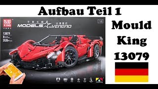 Mould King 13079 Lamborghini Veneno Roadster - Aufbau Teil 1