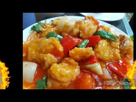 Sweet & Sour Fish Fillet. (酸甜鱼片)