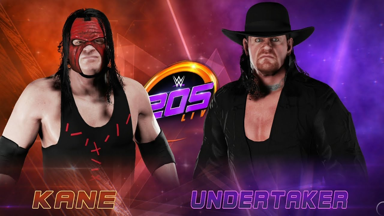 WWE 2K18 – Kane vs Undertaker – Gameplay (PS4 HD) [1080p60FPS]