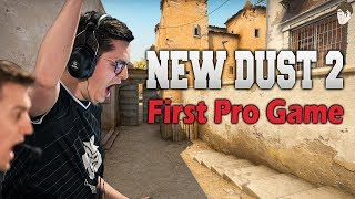 New Dust 2's First Professional Match! How it Played Out