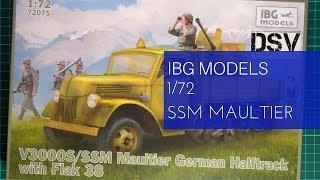 V3000S//SSM Maultier mit Plane von IBG in 1//72