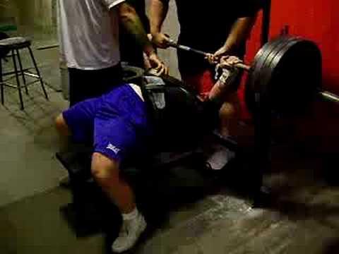 Jim P at Lances Gym 9/22/08