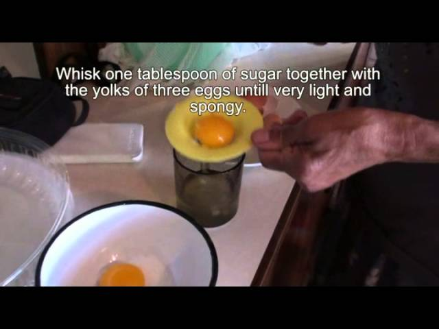 Traditional South African Milktart (Melktert)