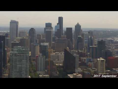 Seattle 3 Year Time-lapse Video from the Space Needle