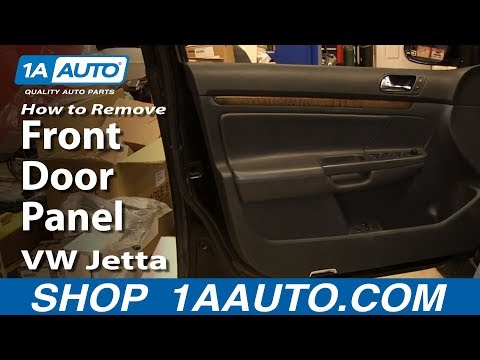 How To Remove Outer Front Door Panel 05-10 Volkswagen Jetta