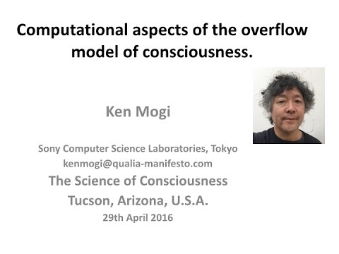 Computational aspects of the overflow model of consciousness