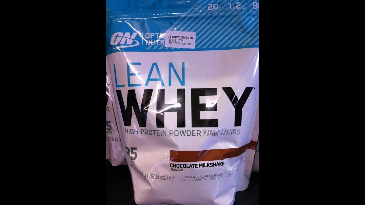 Optimum Nutrition Lean Whey Review