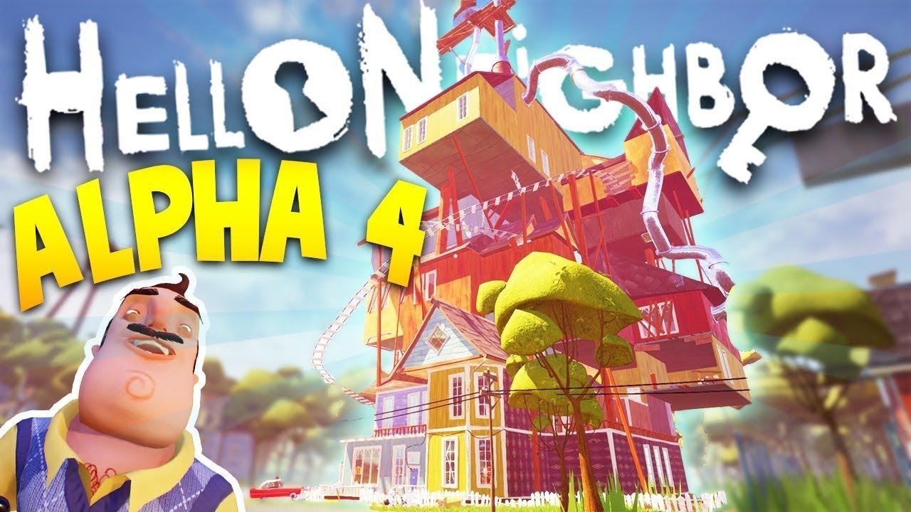 download game hello neighbor alpha 4 android