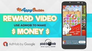 AppyBuilder Tutorial: Monetize with AdMob Rewarded Video [.aia file]