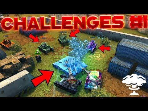 Tanki Online Challenges #1 | Sending Promo Codes !?