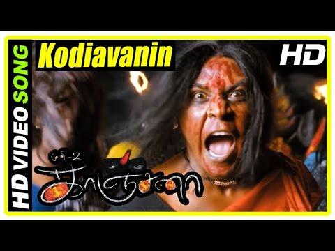 Kanchana Movie Scenes   Kodiavanin Kadhaya Song   Raghava decides to help Kanchana   Muni 2