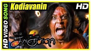 Kanchana Movie Scenes | Kodiavanin Kadhaya Song | Raghava decides to help Kanchana | Muni 2