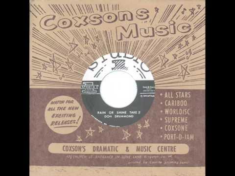 Don Drummond - Rain Or Shine Take 2 - (Studio One / Dub Store Records - DSR-CS7-009)