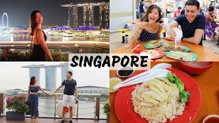 36 HOURS IN SINGAPORE! WHAT WE EAT AND DO | Travel Food Vlog