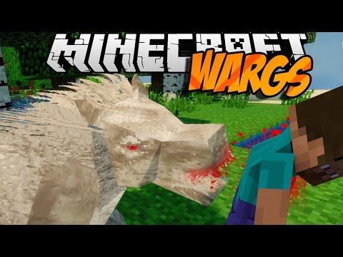 Minecraft mody! PRZERAŻAJĄCE POTWORY! | WARGS MOD