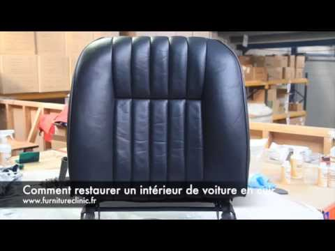 comment r parer un int rieur de voiture en cuir youtube. Black Bedroom Furniture Sets. Home Design Ideas