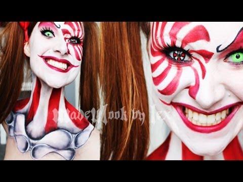 Clown Makeup Tutorial (Madeyewlook)