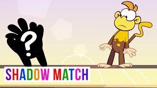 Shadow Match   Om Nom Stories Holi Monkey
