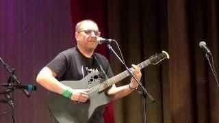 Искрометный, невероятный Олег Булгак, с песней про летающих женщин, фестиваль Обнинская Нота 2016
