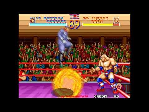World Heroes (Japan) (Arcade) - (Longplay - Brocken | Deathmatch Mode | Level 8 Difficulty) |