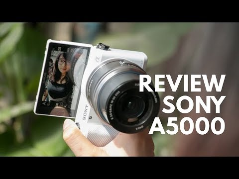 REVIEW SONY A5000 Indonesia (KAMERA VLOG TERMURAH SONY)