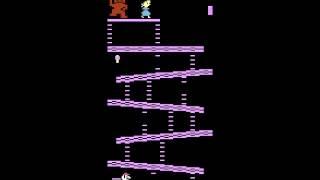 Donkey Kong - Donkey Kong (Atari 2600) - User video