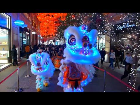 Download 2017-Feb-8 香港農曆新年 - 郭氏功夫金龍醒獅團 Hong Kong Chinese New Year - LED Lion Dance @ Wanchai Lee Tung Avenue
