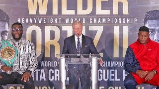 Deontay Wilder vs. Luis Ortiz II - The Full Press Conference
