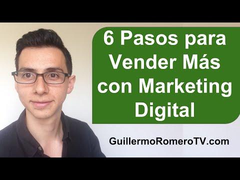 6 Pasos para Vender Más con Marketing Digital
