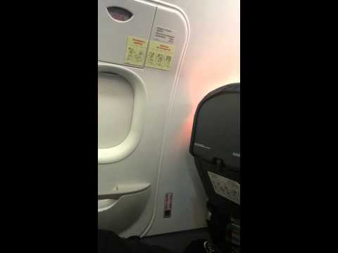 VID 2015-01-17  Horrible Spirit Airlines Flight - Flight 600 - Passenger SAFETY CONCERNS