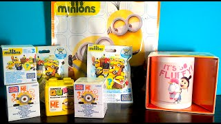Unboxing Minion Blind Bags Mega Bloks Despicable Me